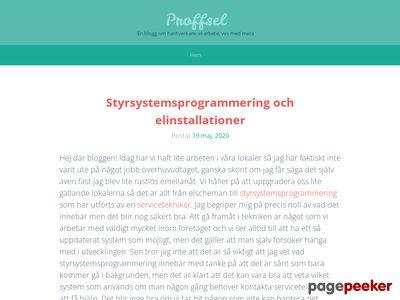 Proffsel i västragötaland - http://www.proffsel.se