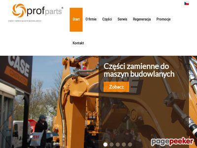 PROFPARTS | Części i serwis maszyn budowlanych