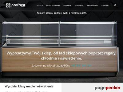 Profrost.pl - meble sklepowe
