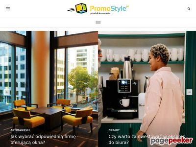 Promostyle: Odzież reklamowa, promocyjna dla firm, ubrania, tekstylia, znakowanie - promostyle.pl