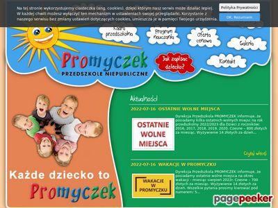 PROMYCZEK Przedszkole Bielsko