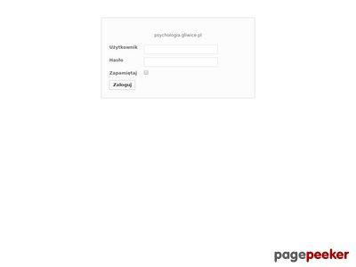 Gabinet psychoterapii - www.psychologia.gliwice.pl