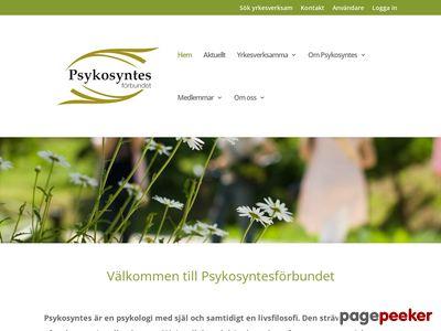 Psykosyntes förbundet - Psykosyntesterapeuter     - http://www.psykosyntesforbundet.se