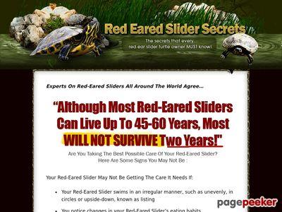 Red Eared Slider Secrets - The Red Eared Slider Secret Manual 1