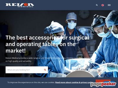 Reison Medical AB - Operationsbord & behandlingsbord med tillbeh�r,  Operating room equipment & accessories - http://www.reison.se