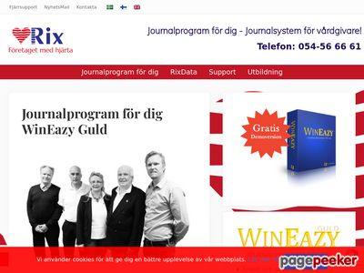 Journalprogram för dig! | Rix anpassar journalsystem för vårdgivare. - http://www.rixdata.se