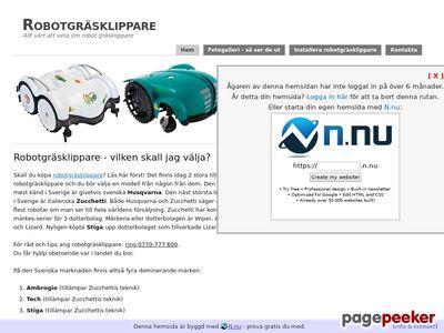 Robotgräsklippare - http://www.robotgrasklippare.n.nu