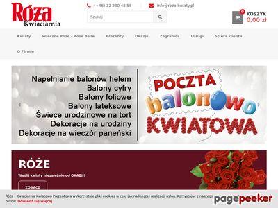 Internetowa kwiaciarnia wysyłkowa Gliwice, kwiaty online, kwiaty i prezenty