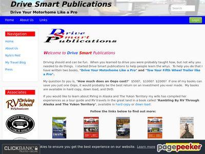 www.rvdrivesmart - Drive Smart Publications - Drive Your Motorhome Like a Pro