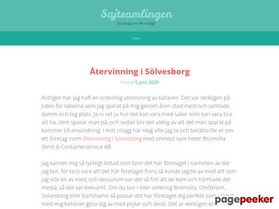 Sajtsamlingen.se - Din  länkpartner - http://www.sajtsamlingen.se