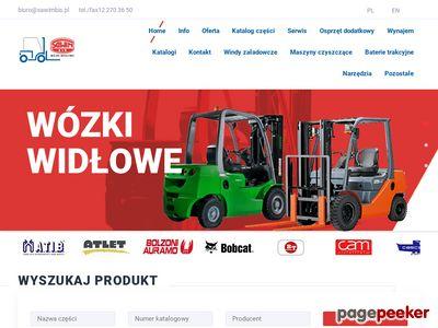 Sawimbis - wózki widłowe Kraków