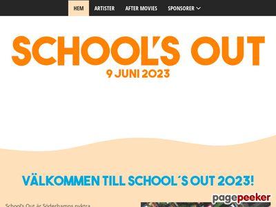 Schools Out | Boka din studentskiva,  slutskiva & skolfest med oss. - http://www.schoolsout.se