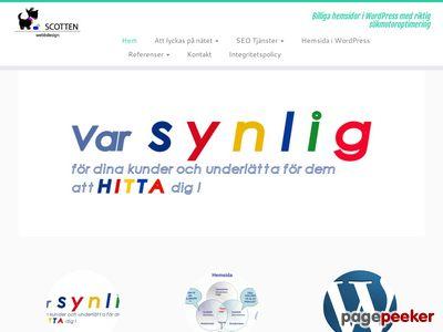 Billiga hemsidor med riktig s�kmotoroptimering  Webbdesign - http://www.scotten.se