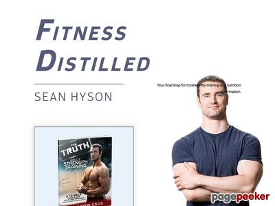 Fitness Distilled | Your final stop for trustworthy training and nutrition information. 1
