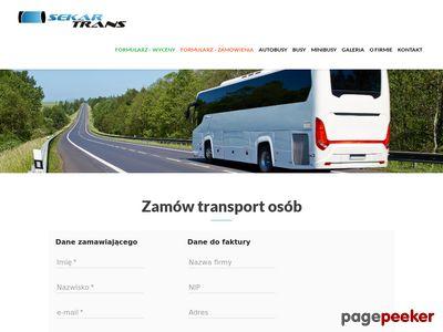 Przewozy autokarowe Warszawa
