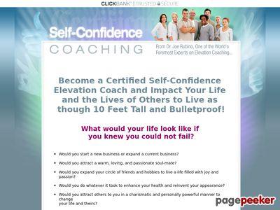 Joe Rubino's Self-Confidence Coaching Certification Program 1