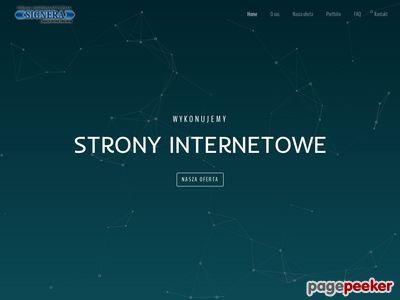 Signera - tworzenie stron www
