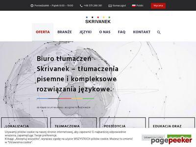Biuro tłumaczeń Skrivanek.pl