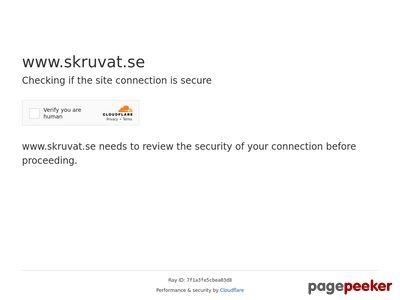 Skruvat.se Bildelar - http://www.skruvat.se