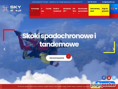 Spadochrony Warszawa