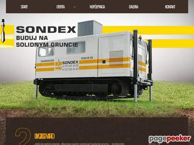 Sondex - sondowanie twoich gruntów