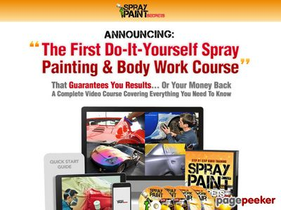 SprayPaintVideos® - How To Spray Paint Your Car - Auto Painting & Bodywork Repair 1