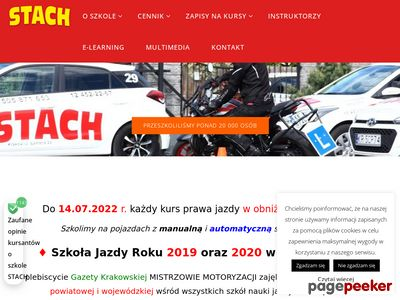 Nauka jazdy Krakow