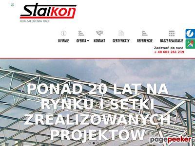 STALKON Konstrukcje stalowe Warszawa