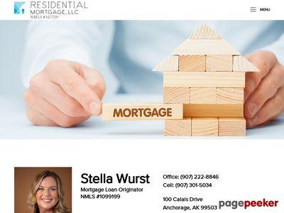Residential Mortgage, LLC - Stella Wurst Loan Originator, 1099199