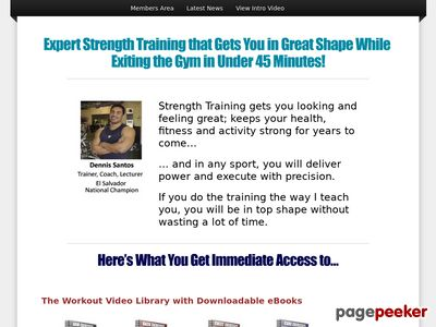 Strength Training Blueprints - No Fluff Strength Training with Weights 2