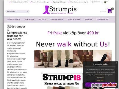 strumpor på nätet - färglada och roliga sockar - http://www.strumpis.se