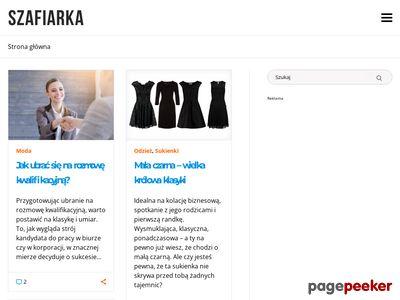 Szafiarka.pl - Blog dla kobiet