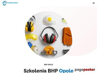 ALEKSANDRA GRĄDZIEL usługi BHP Opole