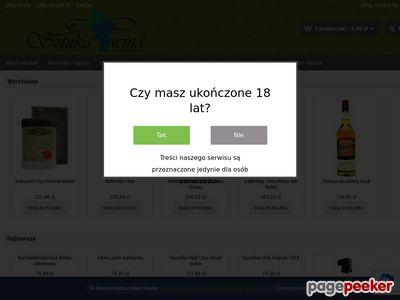 Sztuka wina, internetowy sklep z winami