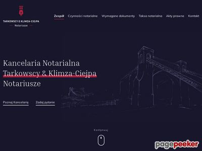 TARKOWSKI & TARKOWSKI notariusze
