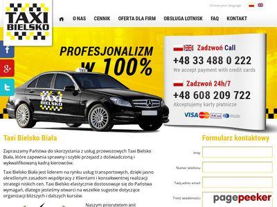 Najtańsze taxi w Bielsku Białej