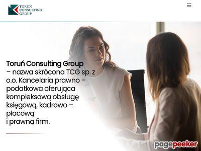 TCG Toruń - księgowość, kadry, płace, podatki, radca prawny