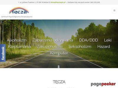 Terapia uzależnień - leczenie alkoholizmu - ośrodek leczenia Tęcza Kraków