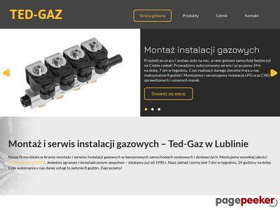 Instalacja gazowa Lublin - firma Ted-gaz