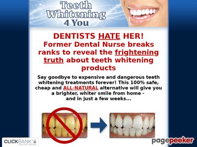 Teeth Whitening 4 You - How to Whiten Your Teeth Easily, Naturally & Forever! Teeth Whitening 4 You – How to Whiten Your Teeth Easily, Naturally & Forever! www