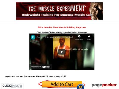How To Build Muscle Without Weights: Discover The Lost Secrets of Bodyweight Training 1