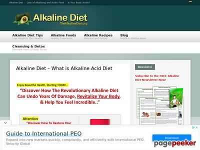 The Alkaline Diet - Additional August Bonus Giveaways For Affiliates! 1