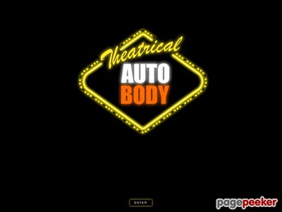 Theatrical Auto Body