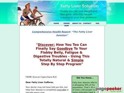 The Fatty Liver Solution Solution Liver Fatty