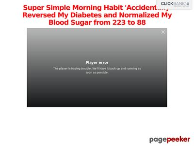 The Big Diabetes Lie - Real Dr Approved Diabetes Offer 1