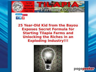 Tilapia Farming Guide Tilapia Guide Farming