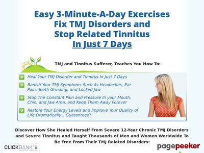 TMJ No More™ – Stop TMJ, Bruxism and Teeth Grinding Holistically www