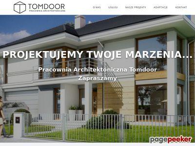 Projekt domu Toruń - Tomdoor