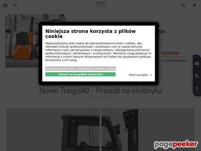 Wózki magazynowe - Toyota Forklifts