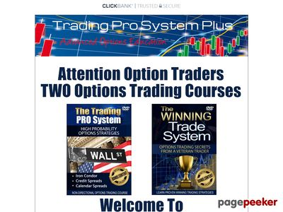 www.tradingprosystemplus Trading Pro System - Stock Market Options Trading Education
